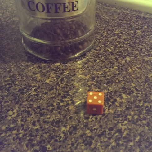 Day 1 Dice Roll - 5 = Capture!