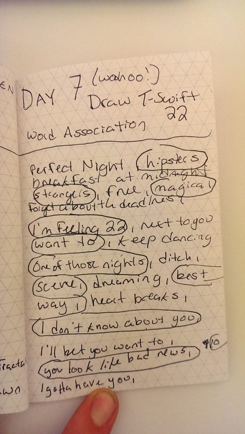 Day 7 Free Write