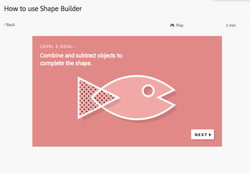 The interactive Adobe tutorial for adding/subtracting shapes together. This tool blew my mind!