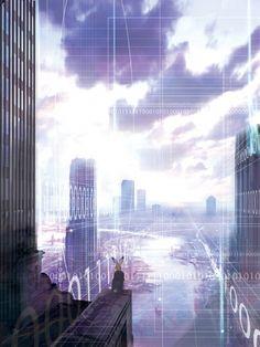 Rainbow's End Cover Concept Art
